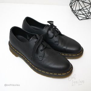 Dr. Martens 1461 Black Virginia Leather